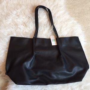❗️3/$25 Saks Fifth Avenue black tote